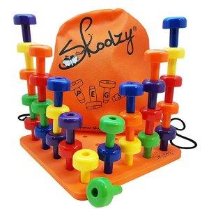 低至$11.97 封面款史低价$15.98史低价:Skoolzy 学龄前儿童益智玩具,融入蒙特梭利教学法
