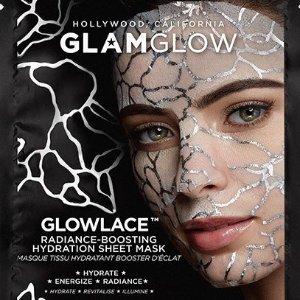 $10Glamglow 新款蕾丝保湿面膜GLOWLACE™上新热卖