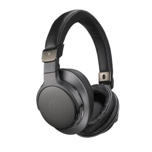Audio-Technica ATH-SR6BTBK Bluetooth Wireless Over-Ear High-Resolution Headphones (Certified Refurbished)