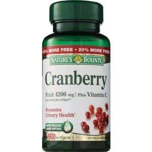 蔓越莓+维生素C 胶囊,120粒