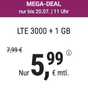 月租€5.99 代号入网送6.8欧11点截止!立省€68!包月电话/短信+4GB上网+欧盟漫游