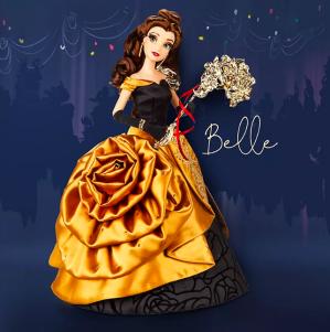 10月12日将发售封面款Belle款 限量5800个新品预告:迪士尼官网 10月最新限量假面舞会公主娃娃惊艳登场