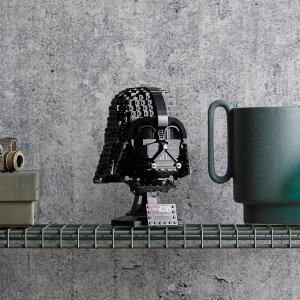 折后€52.99 黑暗恶势力来袭LEGO 75304 达斯·维德黑武士头盔首促 细节处理远超之前头盔