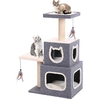 低至5折+额外8.5折Petco 全场猫爬树热卖 封面款$60