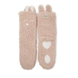 DearfoamsWomen's Flurry Animal Slipper Sock