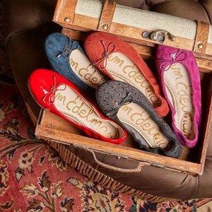 低至7折 舒适上班鞋Sam Edelman 精美鞋热卖