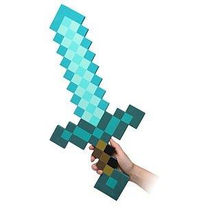 MinecraftFoam Diamond Sword