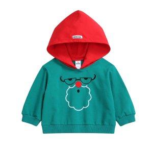 2x PointsChristmas Hoodie - Christmas Green - Imarya