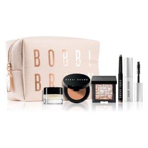 定价优势+限时85折Bobbi Brown 芭比波朗 明星套组 焕肤彩妆5件套+化妆包