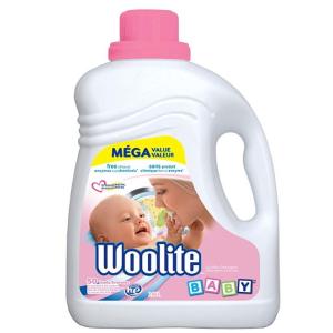 史低价$8.32(原价$14.98)Woolite Baby 防过敏婴儿专用洗衣液超值装,2.96升