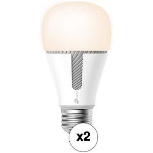 $29.99TP-Link KL120 Kasa 可变光智能白光灯泡 2只装