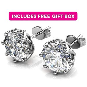 89492ede9b9aa Today Only:Jade Marie Crystal Earrings with Swarovski @ Amazon.com ...