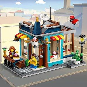 折后€36.99 共554颗粒LEGO 31105 三合一城镇玩具店 多种拼搭模式