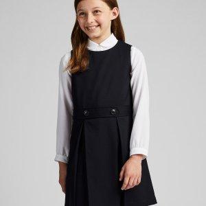 Uniqlo女童制服款连身裙