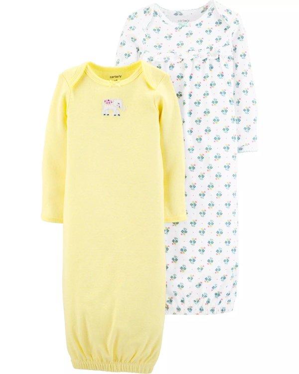 新生宝宝睡袍2件套