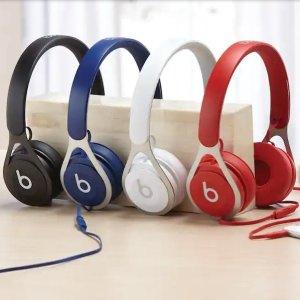 低至4.4折 €43.56收蓝色款Beats EP 头戴式耳机特卖 金属框架轻盈动感