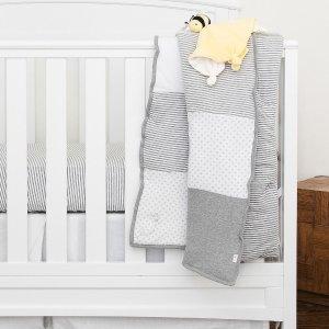 8折 快收鲜有优惠的正反两用被Burt's Bees Baby 儿童有机棉床上用品热卖