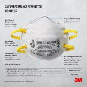 低至$1每个3M 各型号防护口罩 流感季节备起来