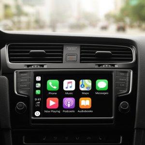 9月17日可用 内有车型列表CarPlay支持第三方软件 包括Google地图