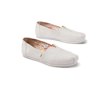 Toms彩虹帆布鞋