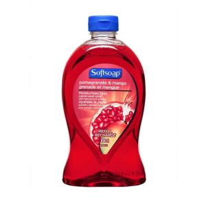 $1.97(原价$3.49) 4种香型选白菜价:Softsoap 洗手液补充装 大容量828ml  洁净你的小手手