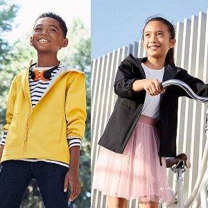 低至$3.9起 封面夹克$29.9Uniqlo 儿童服饰特价区优惠 玩偶、卫衣、睡衣、裤子等