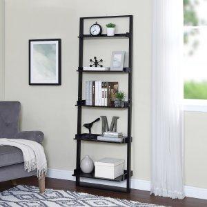 $33.97 (原价$74.98)Mainstays 5层阶梯式书架、置物架
