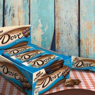 $8.86DOVE 100 Calories Milk Chocolate Candy Bar 0.65-Ounce Bar 18-Count