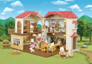 Today Only:Calico Critters Red Roof Country Home Gift Set