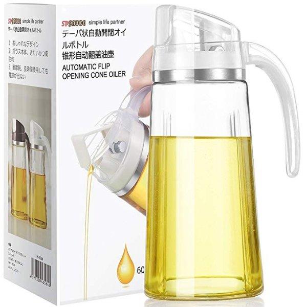 自动开合日式油瓶