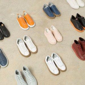 低至6折+包邮  $108收拼色皮鞋Camper 美鞋私密特卖 $126收撞色小羊皮鞋,$141收羊毛踝靴
