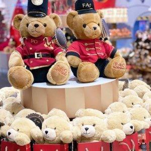 低至7折 €28收封面泰迪熊Selfridges 超萌玩具热卖 Jellycat、Fao Schwarz等大牌都有