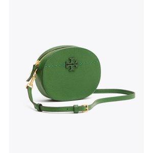 Tory BurchMcgraw Convertible Round Cross-body: Women's Handbags