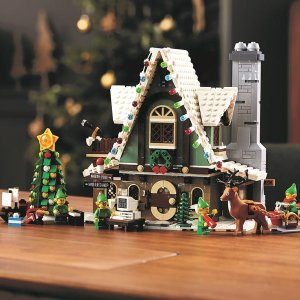 LegoVIP9/23可提前入场圣诞款 精灵小屋
