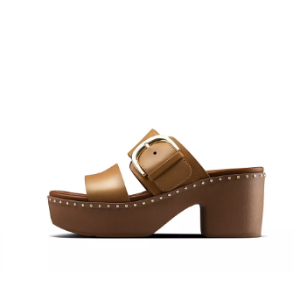 FitFlop驼色厚底凉鞋