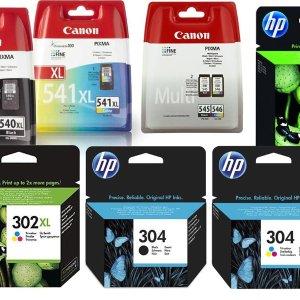 低至6.3折 在家打印唰唰唰佳能、惠普打印机黑白、彩色墨盒 折扣热卖中
