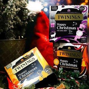 低至3折 £8收冷泡茶套组Twinings 大促区风味茶、礼盒装、精美杯碟热促
