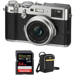 Fujifilm X100F 2430万像素 APS-C 旁轴数码相机 + 配件