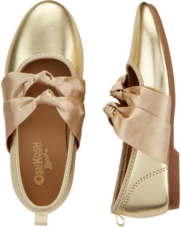 金色礼服鞋