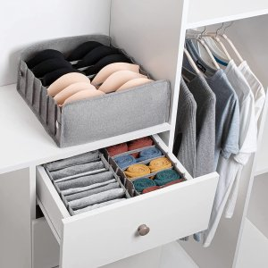 DIMJ 内衣袜子收纳盒3件套
