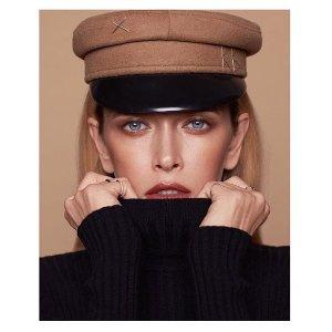 低至4折 get天王嫂昆凌同款Ruslan Baginsky 时髦女孩凹造型必备帽子