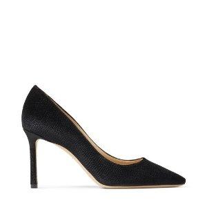 ROMY 85 黑色高跟鞋