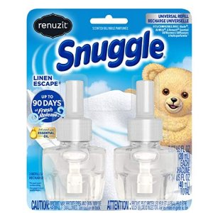 Free After RebateRenuzit Snuggle Scented Oil Refill for Plugin Air Fresheners
