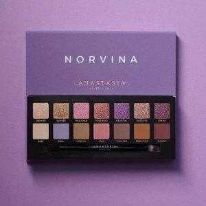 7折 现价$53(原价$76)Anastasia Norvina 14色眼影盘 超美紫色系
