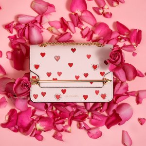 Global Free ShippingStrathberry East/West Mini - Chinese Valentines Soft Pink Bag