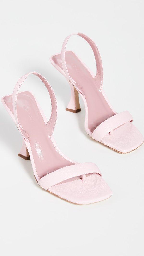 Lotta 粉色凉鞋
