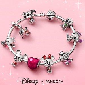 满$150送无尽的爱手链Pandora 限时送好礼 迪士尼新系列萌爆你心