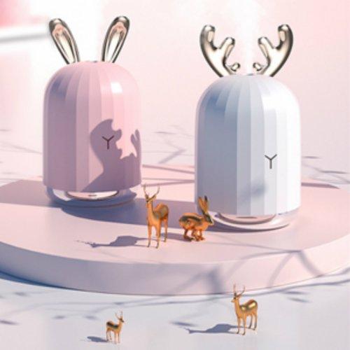 迷你静音 USB可爱兔加湿器(微众测)