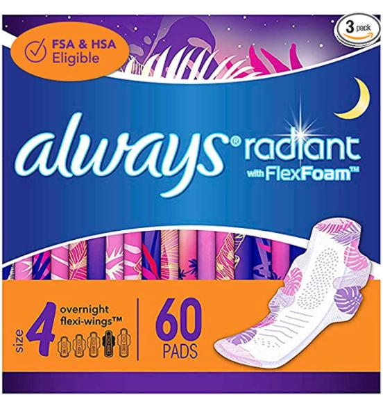 夜用液体卫生巾 4码 60片