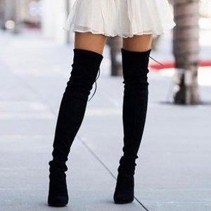 SW也参加+直邮中国The Outnet 女士过膝靴精选,活成腿精的秋冬标配